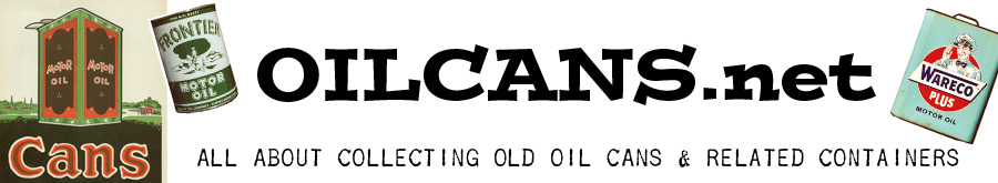 Old Motor Oil Can Collector Information